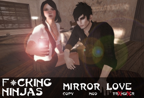Mirror Love Pose Ad