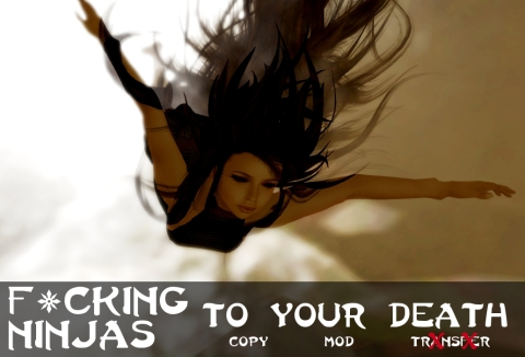 To Your Death Pose Ad