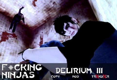 Delirium 3 Pose Ad
