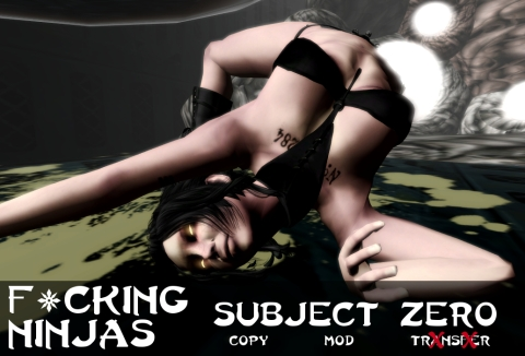 Subject Zero Pose Ad