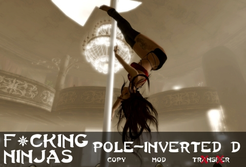 Pole-Inverted D Pose Ad