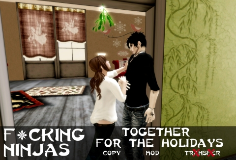 Together for the Holidays Pose Ad