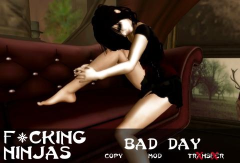 Bad Day Pose Ad