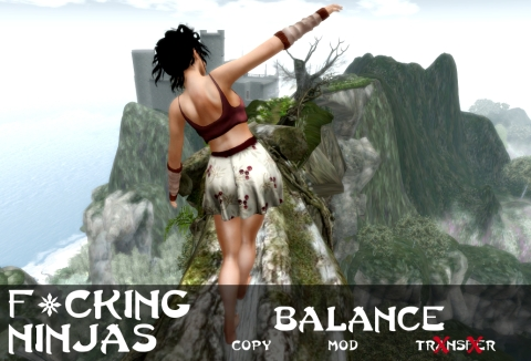 Balance Pose Ad