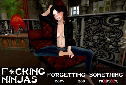 Forgetting Something Pose Ad
